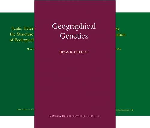 Monographs in Population Biology (50 Book Series)