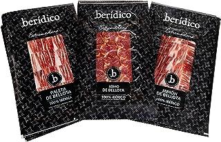 comprar comparacion Pack de Loncheados de Bellota 100% Ibéricos: 3 sobres Jamón de Bellota 100% Ibérico, 3 sobres de Paleta de Bellota 100% Ib...