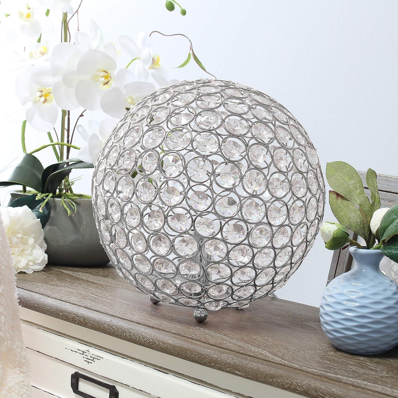 Max 76% OFF Elegant Designs LT1067-CHR Elipse 10 Ta Crystal Max 76% OFF Inch Ball Sequin