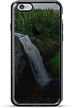 Luxendary Waterfall See-through Design Chrome Series Case for iPhone 6/6S Plus - Titanium Black