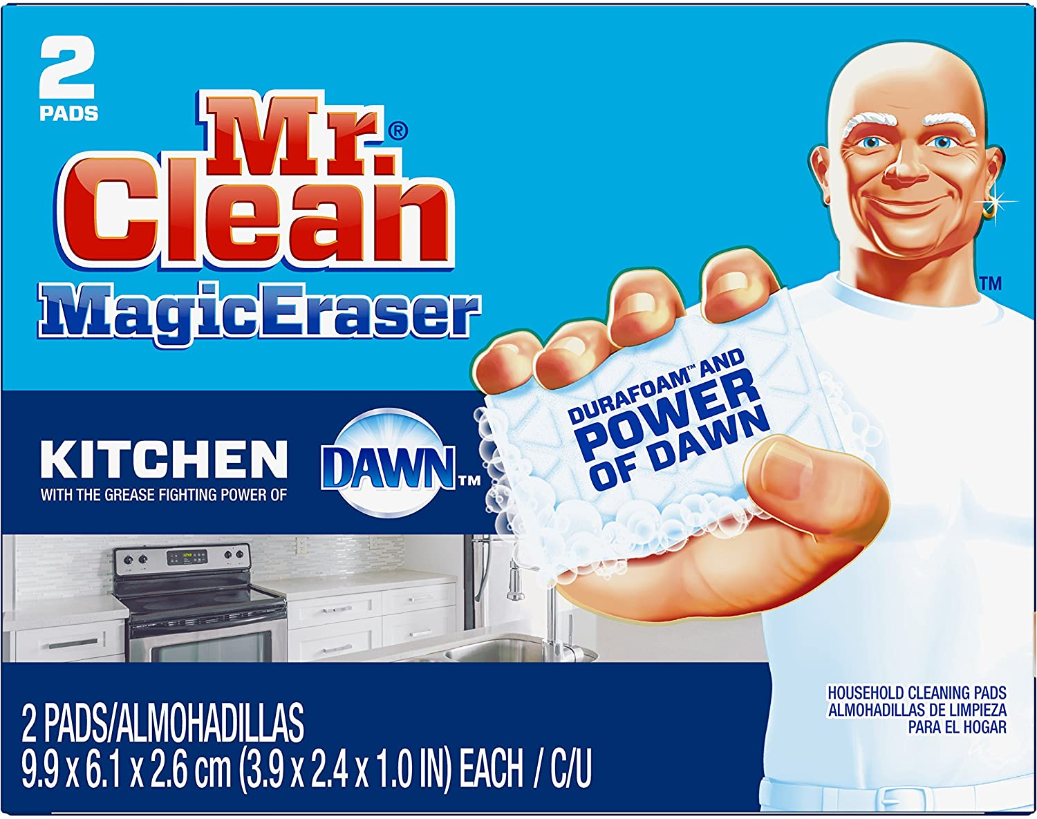 Max 61% OFF Mr Clean Magic Eraser 2 Today's only Scrubber Kitchen Count
