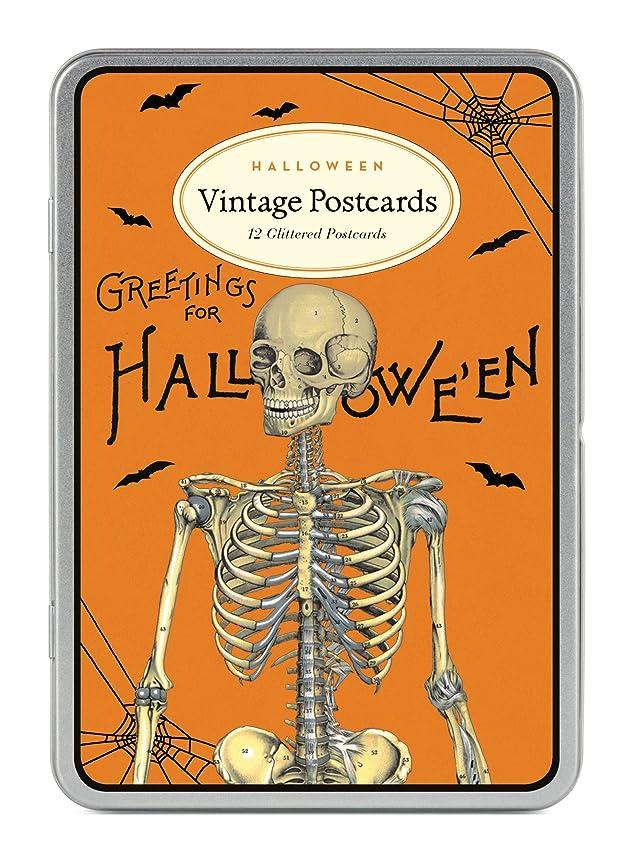 Cavallini Papers & Co. Cavallini Halloween 2 Glitter Vintage Postcards