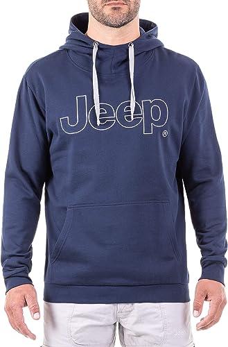 Jeep sweat à capuche Logo J8w Sweatshirt Homme