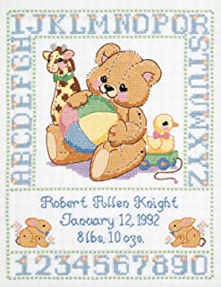 birth sampler cross stitch patterns
