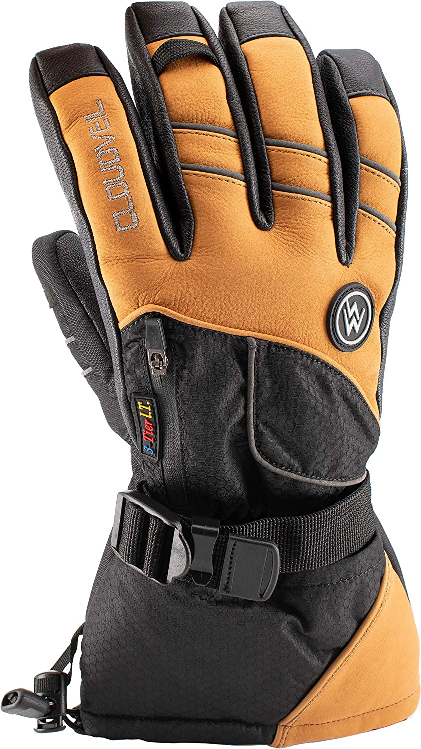 Thunder Paws All Terrain 5-in-1 glove system, Snowboarding, Ski, Outdoor, insulated waterproof winter gloves.