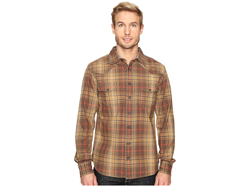 Ecoths Tucker Long Sleeve Shirt (Tarmac) Men