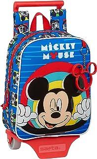 Mochila Guardería con Carro Mickey Mouse Me Time, 220x100x270mm