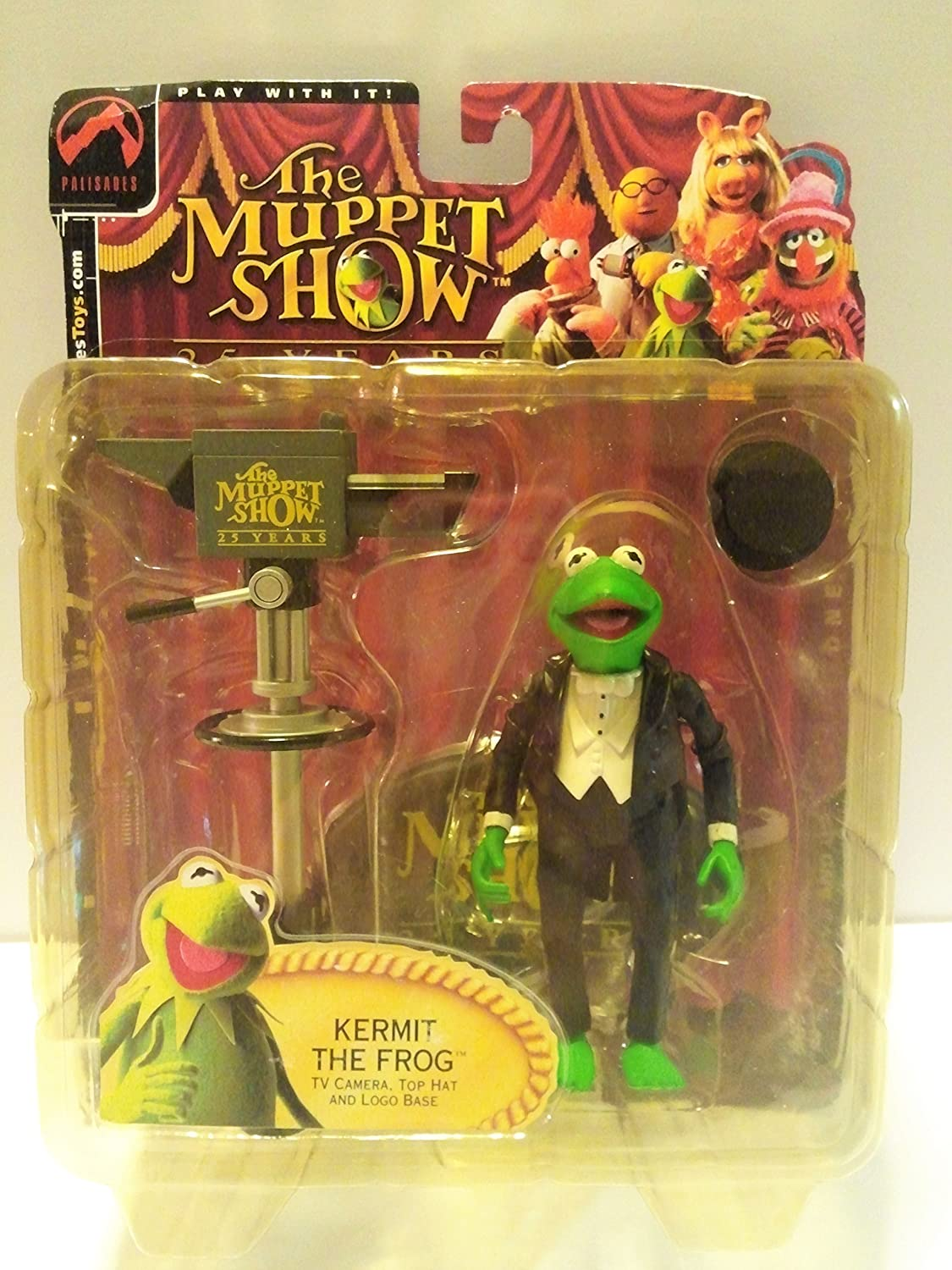 Palisades Muppets Exclusive Kermit the Frog Figure  Steppin Out Tuxedo, Muppet Show Series