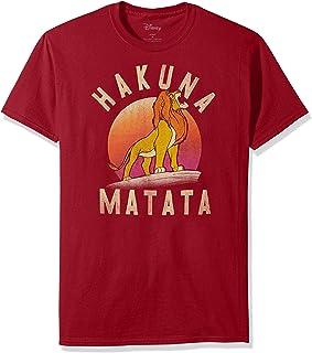 Disney Men's Lion King Simba Warrior Roar Graphic Tee Shirt