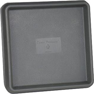 Tusco Products TRSQ15ES Square Saucer 15-Inch 2 Pack Espresso