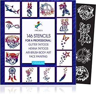 Best wholesale airbrush stencils Reviews