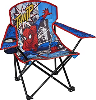 Exxel Outdoors Spiderman Camp Chair, Red