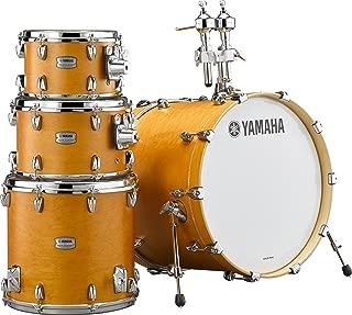 Yamaha Tour Custom Maple 4pc Standard Shell Pack, Caramel Satin
