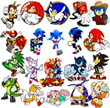 Amazon Com Sonic The Hedgehog Stickers