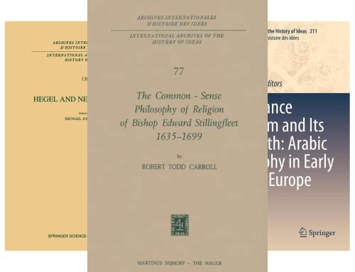 International Archives of the History of Ideas Archives internationales d'histoire des idées (51-100) (50 Book Series)