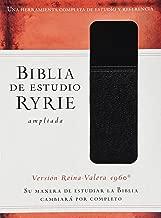 Biblia de estudio Ryrie ampliada: Duo-tono negor con índice (Spanish Edition)