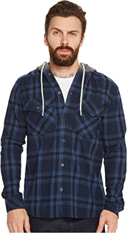 Quiksilver - The Magston Hooded Flannel