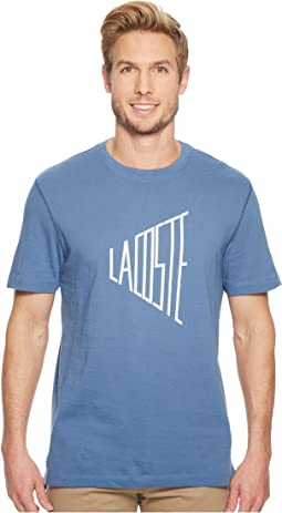Lacoste - Short Sleeve Wordplay Jersey Regular
