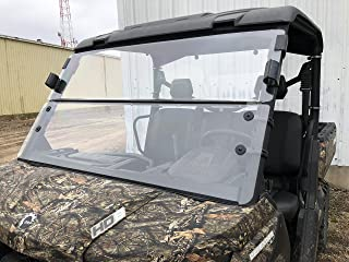 2016-2019 CAN-AM DEFENDER 3/16 POLYCARBONATE FOLD DOWN WINDSHIELD