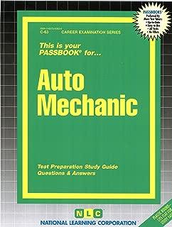 Auto Mechanic(Passbooks) (Career Examination Passbooks)