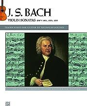 J.S. Bach: Violin Sonatas BWV 1001, 1003, 1005: An Alfred Classical Late Intermediate Guitar Masterworks Edition (Guitar) (Classical Guitar Masterworks) (English Edition)
