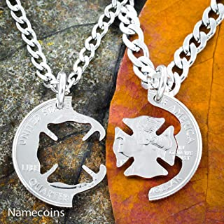 Best firefighter wife necklace Reviews