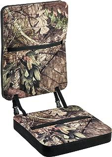 Mossy Oak Deluxe Foam Seat with Back Rest, Break-Up Country