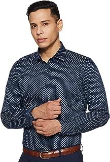 Van Heusen Men's Printed Slim fit Formal Shirt
