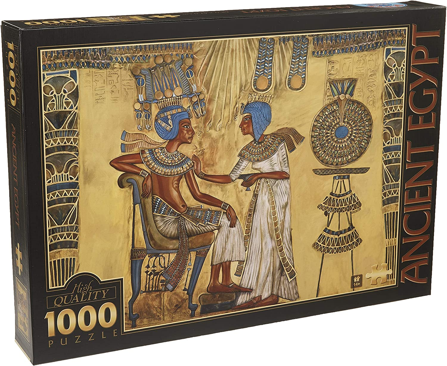D-Toys Around the World - Egyptian Art Jigsaw Puzzle, 1000-Piece by D-Toys
