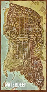 Gale Force Nine Dungeons & Dragons - Waterdeep Dragon Heist Map 20