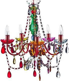 The Original Gypsy Color 5 Light Medium Gypsy Chandelier H21