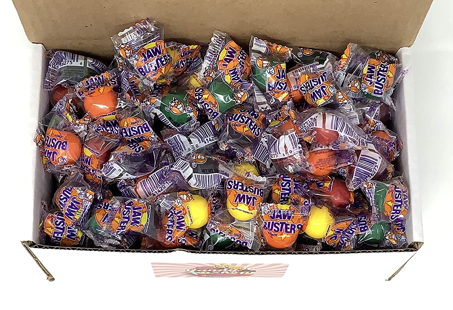 Jawbusters Candy Hard in Box Inventory cleanup selling sale Cheap SALE Start 5LB Individually Wrap Bulk
