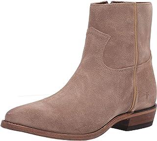 حذاء برقبة غربية للنساء من Frye بسحاب داخلي