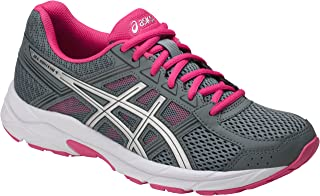 ASICS Womens Gel-Contend 4 Running Shoe (8.5 M US, Stone Grey/