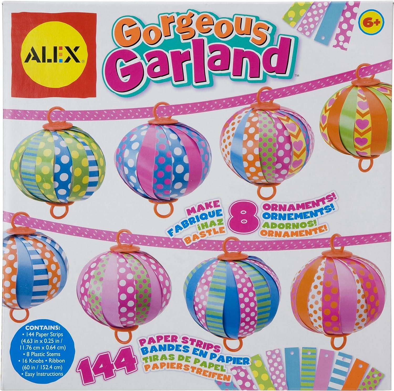 Alex 01872 - 8 Girlanden zum selbst gestalten durch Papierstreifen B004K1EZ5Q Realistisch   | Outlet