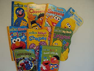 Sesame Street Collection: Grover's Guessing Game About Animals; Big Bird's First Book of Letters; At the Zoo; Eyes, Nose, Fingers, Toes; Bert & Ernie's First Book of Opposites; Elmo's First Book of Colors