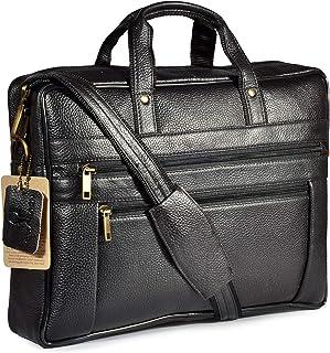 WildHorn Leather Laptop Messenger Bag for Men