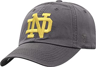 NCAA Men's Hat Adjustable Relaxed Fit Charcoal Icon