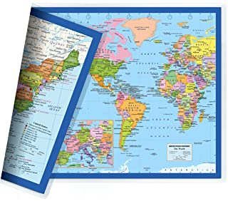 world map placemats