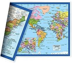 Best world map flat Reviews