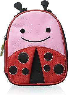 Skip Hop Zoo Insulated Ladybug Lunchbox, Red