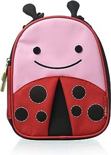 Skip Hop Zoo Kids Insulated Lunch Box, Livie Ladybug, Red