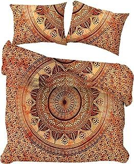 Mandala Tie Dye Funda Nórdica Colcha Bohemio Ropa de Cama Manta Cubierta Indian Mandala Ombre Doona Cover Sets Dormitorio Decoración