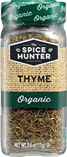 The Spice Hunter Thyme, Organic, 0.6-Ounce Jars (Pack of 6)