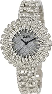 Burgi Women's Crystal Encrusted Bracelet Watch - BUR054