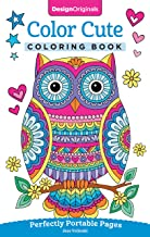Color Cute Coloring Book: Perfectly Portable Pages (On-the-Go Coloring Book) (Design Originals) Extra-Thick High-Quality P...