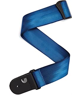 D'Addario. Correa para guitarra de cinturón de seguridad, azul