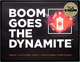 Boom Goes The Dynamite Card Game   Basic Math Memory Game   Counting & Matching Numbers   2-6 Players/Deck Best for Family Times ? Educational STEM for Kids Aged 7+ ? Fun for Adults & Seniors Too