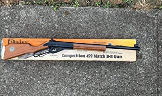 Vintage Daisy BB Gun Competition 499A In Box Nice