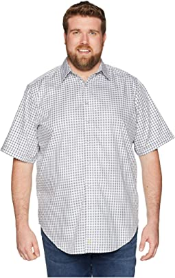 Robert Graham Big & Tall Morales Short Sleeve Woven Shirt